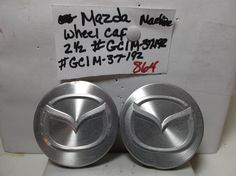 Mazda-626-Millenia-machined-wheel-hub-GC1M 37192-cover-center-cap-centercap-864