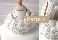 Hey, I found this really awesome Etsy listing at https://www.etsy.com/ca/listing/123645877/pdf-pattern-instant-download-chunky-knit