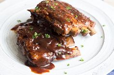 slow cooker fall off the bone ribs