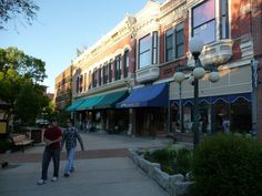 Last Chance Gulch-Helena, Montana. Our Favorite Shopping Place in Helena