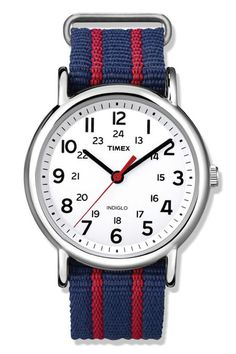 Gifts for Dads- This watch may not stop Dad from being late, but he'll look so good whenever he shows up. Watch, $45; timex.com. Click through to redbookmag.com for more affordable gift ideas that won't break your bank.