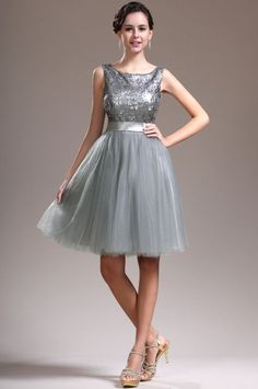 silver cocktail dresses (08)