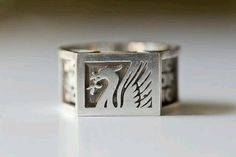 Massive Solid Silver Gents Ring-liverpool Football Club-size U-heavy-vintage Precious Metal Without Stones Jewelry & Watches