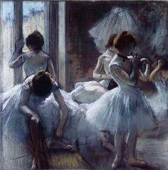 Edgar Degas | Edgar Degas - Ballerinas by Edgar Degas