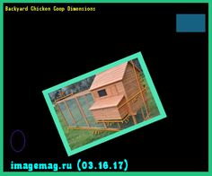 Backyard Chicken Coop Dimensions 200526 - The Best Image Search