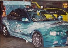 Custom Car Painting - Car Airbrushing - Custom Airbrushing by Advanced Airbrush - Award winning airbrushed artwork on automobiles.
