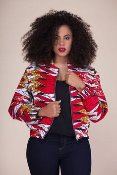 Latest collection of the best and trendy ankara jackets and ankara blazers styles there are out there. DO you love ankara blazers and jackets styles. African Fashion Ankara, Latest African Fashion Dresses, African Dresses For Women, African Print Dresses, African Print Fashion, Africa Fashion, African Attire, African Wear, African Prints