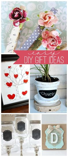 Easy DIY Gift Ideas { lilluna.com }