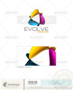 An excellent logo template suitable for design, print and multimedia businesses. This is a layered logo template and high resolut