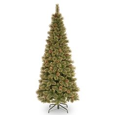 6ft Pre Lit Kensington Fir Feel Real Artificial Christmas