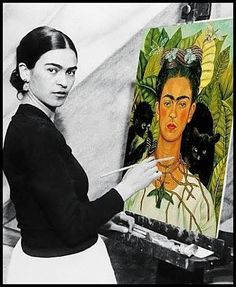 Great exhibit at the Nelson....Frida Kahlo