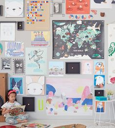 Creating a gallery wall in doesn't have to be difficult or overwhelming. Our 5 easy steps will help you create a gallery wall in any room of your home.