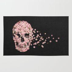 A Beautiful Death rug by Terry Fan