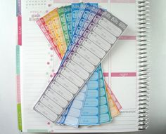 12 Bills Due Monthly Stickers - Perfect for Erin Condren Life Planners, Plum Paper Planners, Filofax, Calendars, etc!