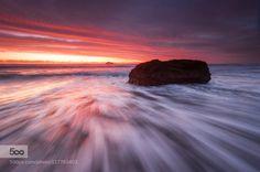 Rush by earlcook  auckland beach coast drama earl cook photography facebook landscape movement new zealand ocean rocks
