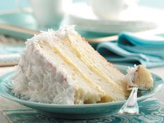 coconut cake with pineapple filling, my absolute favorite