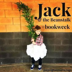 Easy Jack & the Beanstalk Costume! Head to Instagram for the full instructions!