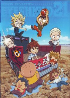 Eyeshield 21 ~~~ Chibi Devil Bats ~~ By modern standards, this is Old School anime. I might create a group board for that. Anyone interested?