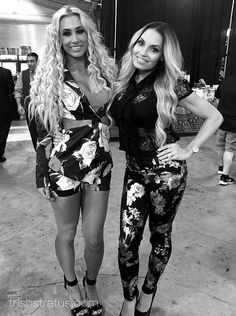 Wrestling Divas, Women's Wrestling, Wwe Trish, Gorgeous Ladies Of Wrestling, Wwe Divas Paige, Carmella Wwe, Trish Stratus, Wwe Female Wrestlers, Wwe Girls