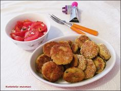 Pârjoale de cartofi cu telemea Ethnic Recipes, Food, Essen, Meals, Yemek, Eten