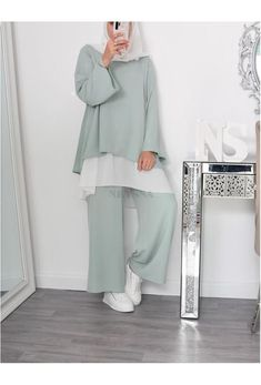 Islamic Fashion, Muslim Fashion, Fashion Muslimah, Hijab Fashion Inspiration, Mode Inspiration, Hijab Fashion Summer, Hijab Trends, Hijab Fashionista, Modesty Fashion