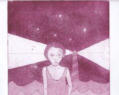 Aguafuerte (Grabado en chapa)   por Soma Sema
