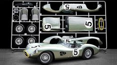 UK-based Evanta Motor Company has constructed an AirFix-style scale model of the Aston Martin race car that Carroll Shelby and Roy Salvadori piloted to the 1959 24 Hours of Le Mans as a trib . Carroll Shelby, Goodwood Revival, Model Cars Kits, Kit Cars, Scale Models, Martin Car, Aston Martin Models, Aston Martin Dbr1, Motosport