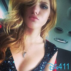 "Photos: Bella Thorne Not Feeling Well While Working On ""The DUFF"" June 13, 2014"