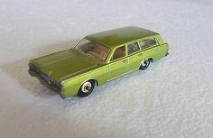 Vintage 1968 Lesney Matchbox Regular Lime #73 MERCURY COMMUTER ; MINT - http://www.matchbox-lesney.com/21353
