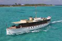 104' Freedom, a fully restored 1926 Mathis Yacht