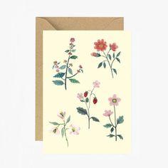 vintage Card feminist illustration Stationery art work greeting card love papergoods carta postal postcard illustration