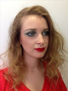 1970s inspired hair and makeup by Janey Umback