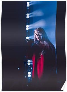 PERFECT FRAME WITH TICKET BILLIE EILISH ONSTAGE LIVE AUTOGRAPHED POSTER PRINT