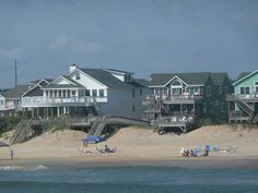 Beach houses in Nag Head NC