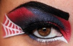 beautylish:    Who is excited for the new Spiderman movie coming out? Dawn B. created an Amazing Spiderman inspired eye look!