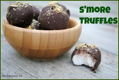 S'more Truffles - Shugary Sweets