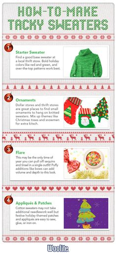 woolite #Tips for making a tacky #sweater this #holiday season