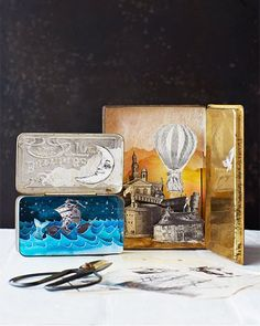 Lova's World: Handmade Shadow Boxes - http://www.sweetpaulmag.com/crafts/lovas-world-handmade-shadow-boxes #sweetpaul