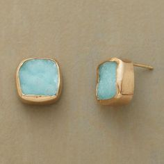 Blue Druzy Earrings - New Arrivals - Jewelry | Robert Redford's Sundance Catalog