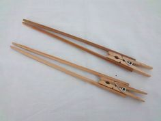 Pair of Wooden REDNECK CHINESE CHOPSTICKS Novelty Gag Gift Joke Item Wood FUNNY