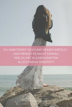 So machst Du endlich Schluss damit, Dir selbst Hindernisse in den Weg zu schmeißen!   #selbstvertrauenstehtmir #stolz #selbstsabotage
