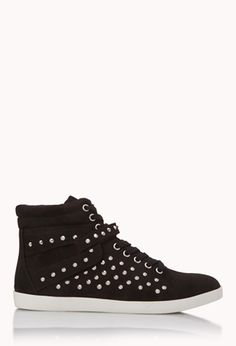 Forever Cool Spiked High-Tops | FOREVER21 - 2000074635