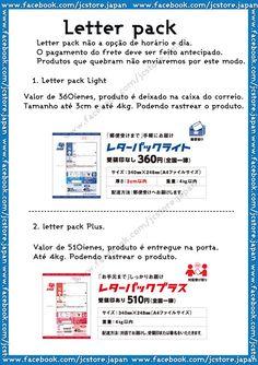 Conhece os tipos de envio do correio? Letter pack (レターパック)