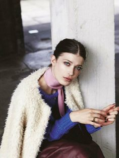 visual optimism; fashion editorials, shows, campaigns & more!: lola: larissa hofmann by piczo for jalouse october 2014