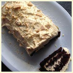 Chocolate And Caramac Roulade Recipe