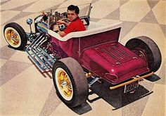 Real 50's Cool This is my favorite. T buckets are true hot rods!