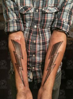 lightning bolt tattoo - Google Search