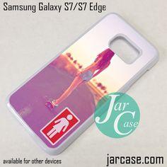 Sexy Girl Skateboard Phone Case for Samsung Galaxy S7 & S7 Edge