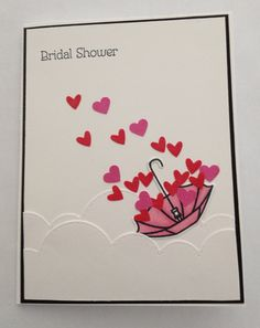 Card measures 51/2 x 41/4. Perfect bridal shower card for any bride to be