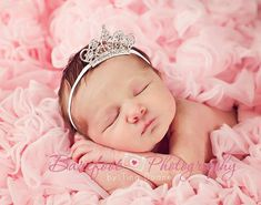 Baby Headband, Baby Tiara, Clear Rhinestone Tiara Headband, Baby Girl Princess Headband, Photo Prop, Newborn Toddler Child Girls Headband on Etsy, $8.95